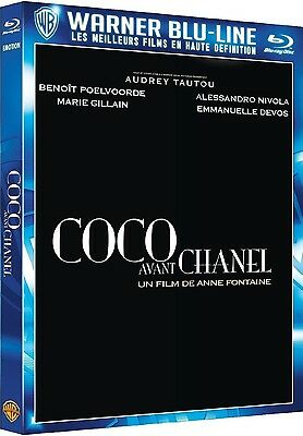 Blu Ray  //  COCO AVANT CHANEL  // A. Tautou - B. Poelvoorde  /  NEUF cellophané