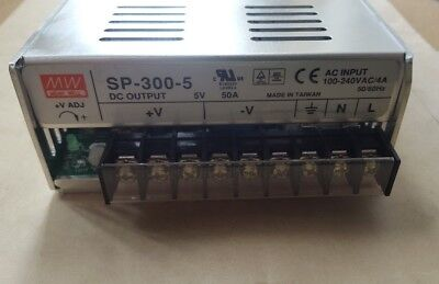 Meanwell Sp-300-5 Power Supply  (U6.3B4)