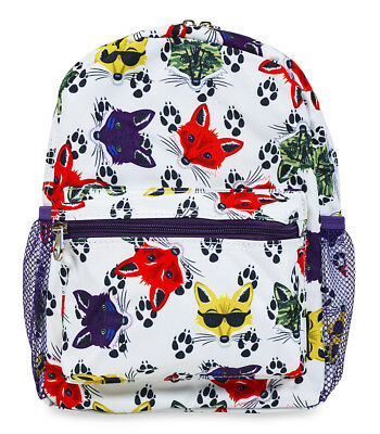 Jenzys Boys Fox Mini Toddler Backpack Bag For Preschool or Kindergarden