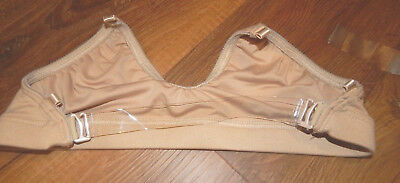 Youth Large-Capezio Brand Tan Colored Transition Bra With Extra Sets Of Straps