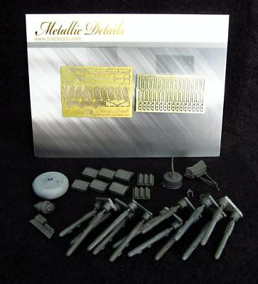 Detailing set for helicopter model AH-64 Apache 1/72 Metallic Details 7220 NEW!!