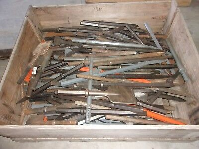 150 PLUS Lot of jack hammer bits  new old stock LOCAL PICKUP