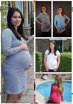 Brand New Bundle Of Maternity Clothes Essentials X 6 Sizes 8Uk-16Uk