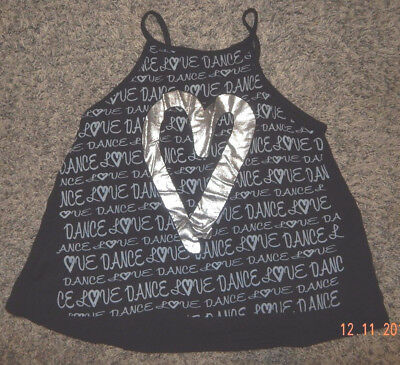 Youth Size Medium--Duck Crossing Brand Flowy Dance Top--Cut Out Back--Near Exc