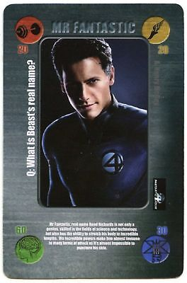 Mr Fantastic X-Men The Last Stand Battle Cards 2006 Daily Mail CCG Card (C1406)