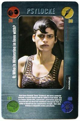 Psylocke X-Men The Last Stand Battle Cards 2006 Mail On Sunday CCG Card (C1406)