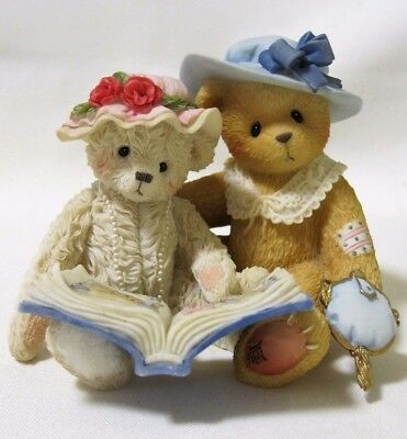 Cherished Teddies TESS And Friend Things Do Not Change, We Do 661935F IPR