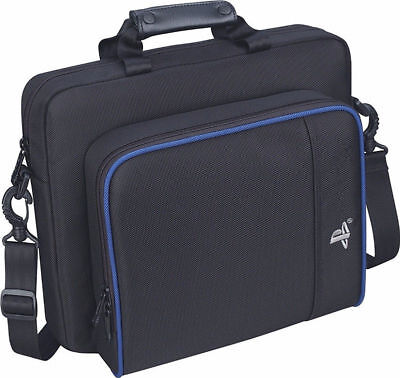 Black Multifunctional Travel Carrying Bag Case For Sony PlayStation4 PS4 System