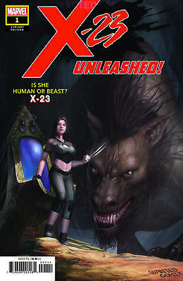 X-23 #1 In Hyuk Lee Wanted Comix Variant Cover Monsters Unleashed 10 1975 Homage