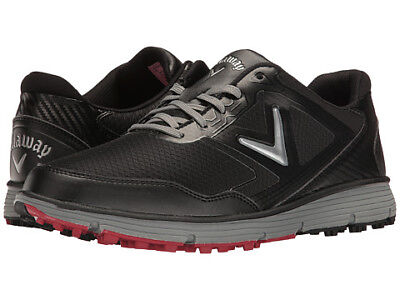 Callaway Balboa Vent Spikeless Golf Shoes Black/Grey 12 Medium
