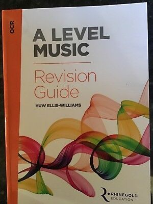 Rhinegold Education, OCR A Level Music Revision Guide, Huw Ellis-Williams