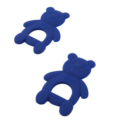 Safety Silicon Chewing Teether Bear Shape Infant Teething Tooth Training Toy 6A