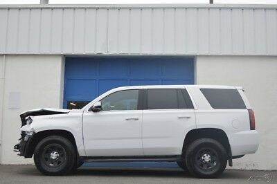 Chevrolet Tahoe Police Special Service Repairable Rebuildable Salvage Lot Drives Great Project Builder Fixer Easy Fix