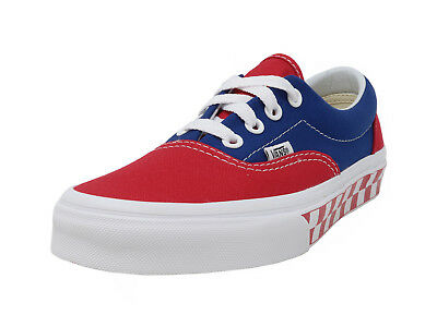 dc46842ce4 VANS Era BMX Checkered Red Blue White Lace Up Fashion Sneakers Adult Men  Shoes