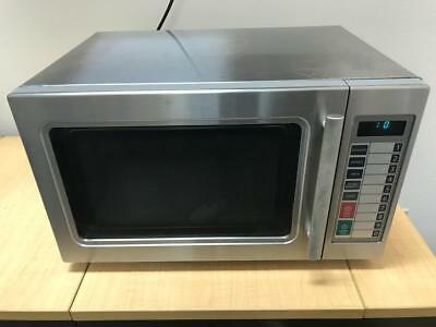 Daewoo Stainless Steel 1.0 CU FT Commercial Microwave Oven 1000w Good condition