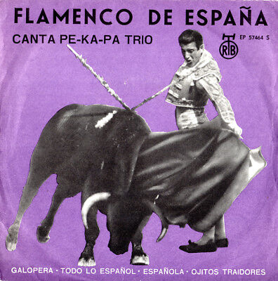 Single Canta-Pe-Ka-Pa Trio - Flamenco de Espana
