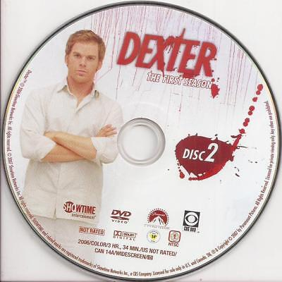 Dexter (DVD) Showtime Season 1 Disc 2 Replacement Disc U.S. Issue!