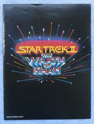 Wrath Of Mome >> Star Trek The Wrath Of Khan Promotional Movie Advertisement Used
