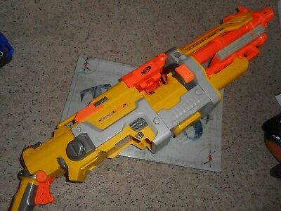 Nerf Vulcan EBF-25 machine gun part lot, main gun replacement