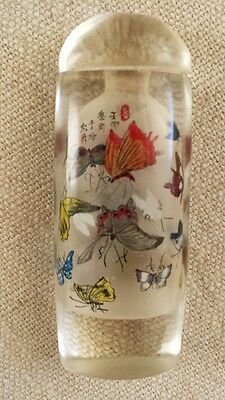 RARE!!! Chinese Antique Inside Painting Snuff Bottle