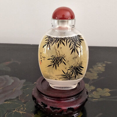 Genuine Hand Painted Chinese Inside Painting Snuff Bottle