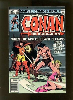 Conan the Barbarian #120 (Newsstand) FNVF (Looks Better) Buscema McLeod Roussos