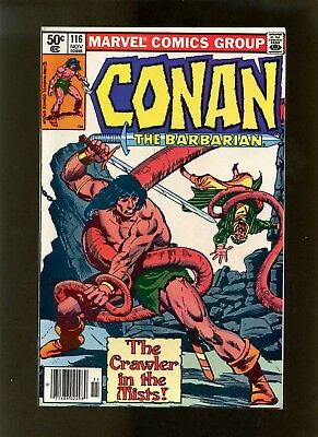 Conan the Barbarian #116 (Newsstand Edition) VF Buscema, Neal Adams