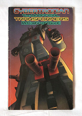Cybertronian Unofficial Transformers Recognition Guide - Volume 3