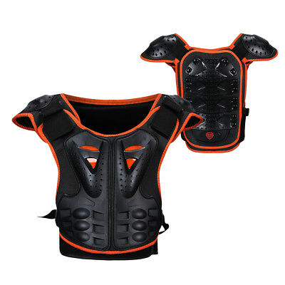 Kids Body Chest Spine Protector Armor Protective Vest Gear For Dirt Bike Racing