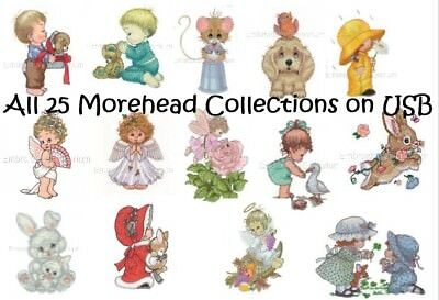 Special Offer ** All 25 Morehead Collections - Machine Embroidery Designs On Usb