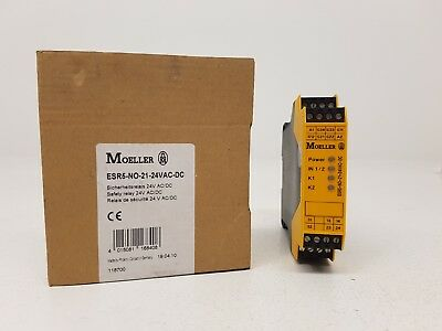 EATON MOELLER ESR5-NO-21-24VAC-DC safety relay 24VAC/DC 118700