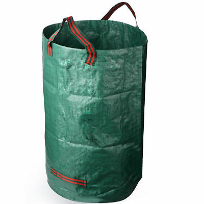 Heavy Duty Large Strong Rubbish Bag Sacks Can 120L 32 Garden Waste Bags Green AU