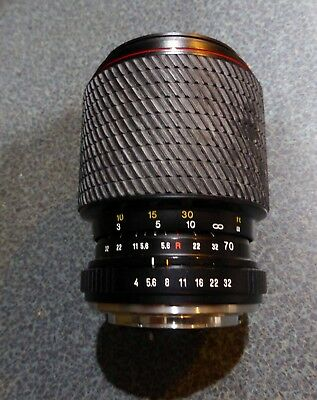 Tokina SD 70-210mm f4-5.6 lens For Contax / Yashica