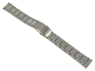 Minott Watch Band Stainless Steel Band Silver Colored Matt / High Gloss 26865