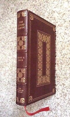 """1975 Franklin Library Pearl Buck """"the Good Earth"""" - Limited Edition, Leather"""