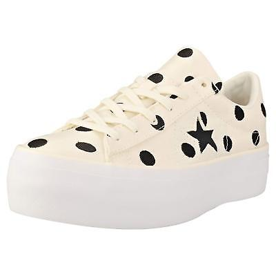 Converse One Star Platform Ox Womens Trainers