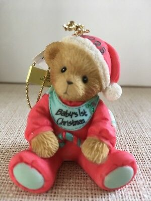 Cherished Teddies Baby's 1st  Christmas Ornam. 2005 Abbey Press Excl.- Neu & OVP