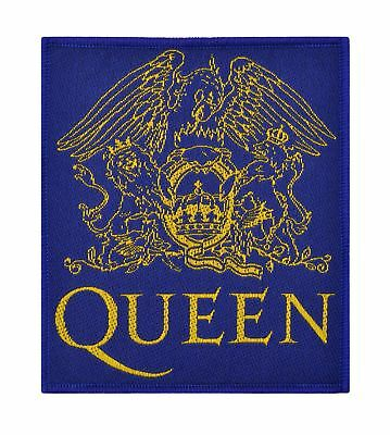 Officially Licensed Queen Crest Woven Sew On Patch