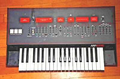 ARP Axxe Model 2323 Works great but has a rip in the front panel overlay.