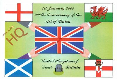 Picture Postcard, 200Th Anniversary Of The Act Of Union, By Jackie Bird