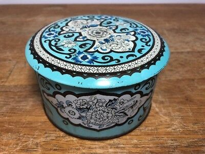 Vintage DAHER Metal Tin Container Made in England