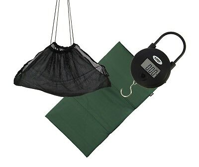 NGT Specimen Anglers Weigh set Digital Scales,Sling & Unhooking mat carp fishing