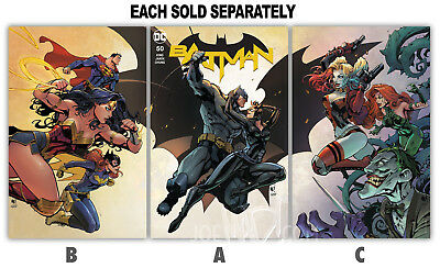 BATMAN #50A-50C SIGNED BY JOE MADUREIRA ~ Each Sold Separately
