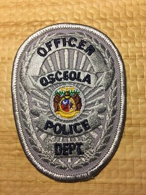 Osceola Iowa Police Department Patch Ia