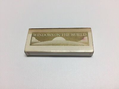 NYC Box of Matches Windows on the  World Trade Center Twin Towers New York City
