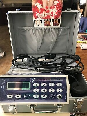 Used Detox Machine Cell Ion Ionic Aqua Foot Bath Spa Chi Cleanse /belt