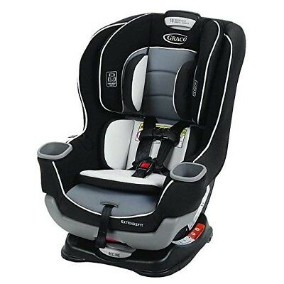 Graco Extend 2Fit Convertible Car Seat, Gotham, One Size FREE SHIPPING New