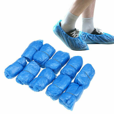 Disposable Plastic Overshoes X100 Floor Carpet Shoe