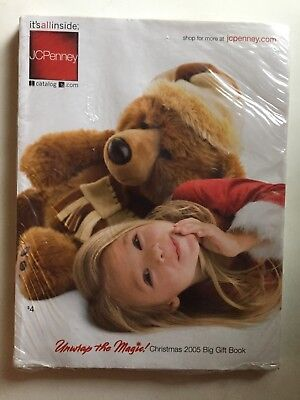 JC Penney Christmas 2005 Catalog Sealed ! MIP