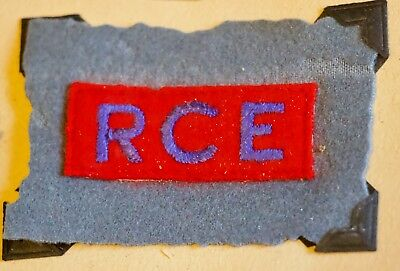 WII Royal Canadian Engineers 3rd Division RCE Patch